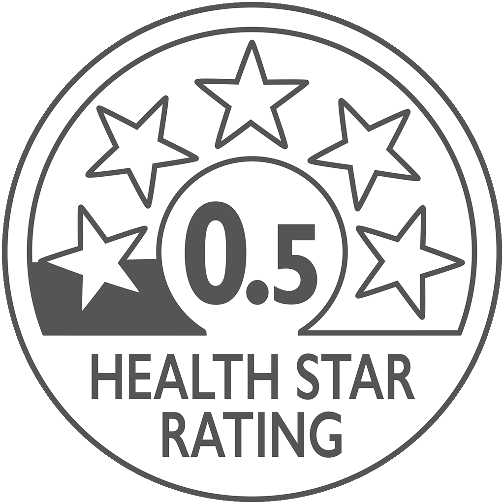 health star rating 0.5